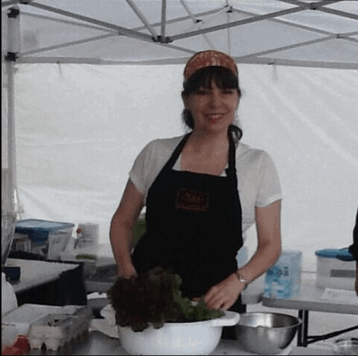 chef at the market