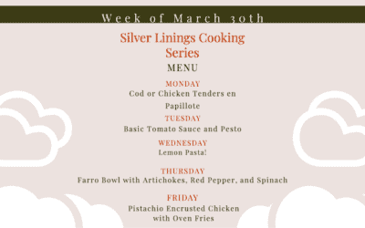 Silver Linings Cooking Series – Week 2