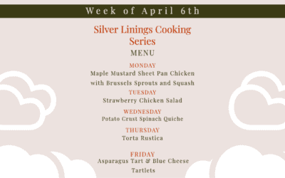 Silver Linings Cooking Series – Week 3