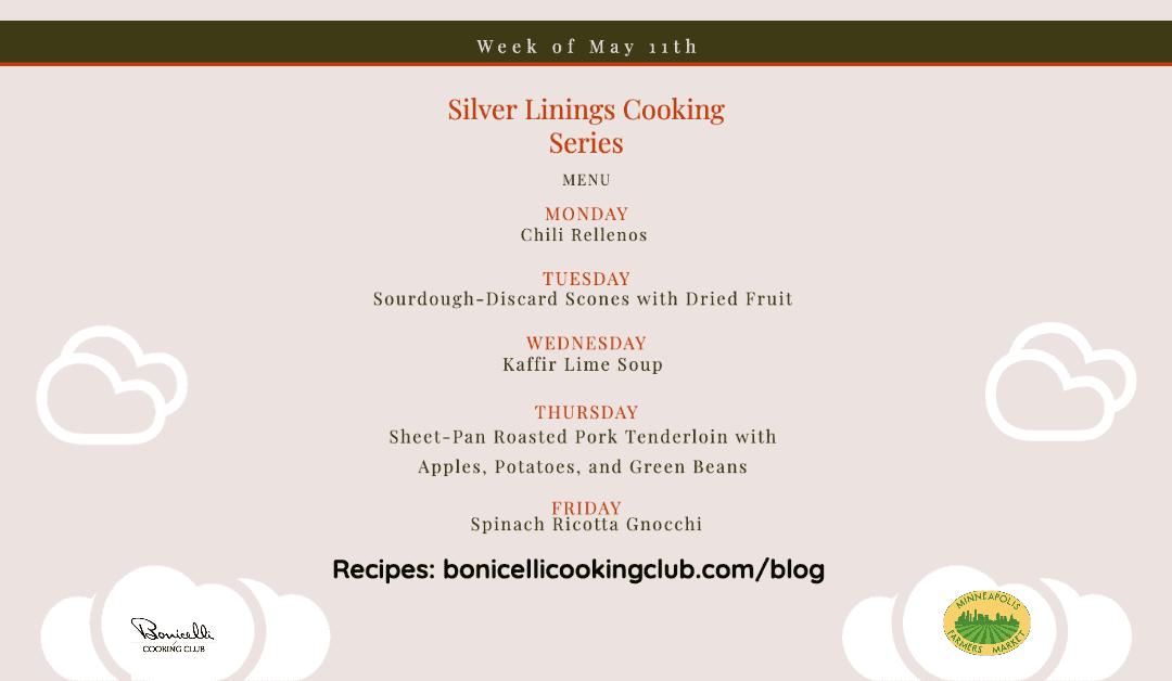 Silver Linings Cooking Series – Week 8