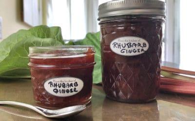 Rhubarb Ginger Marmalade