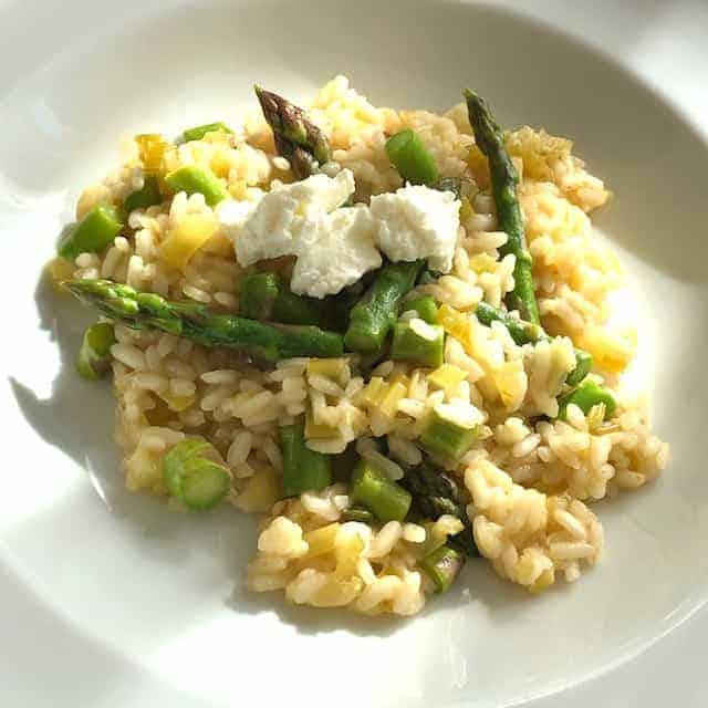 Risotto with Fresh Asparagus