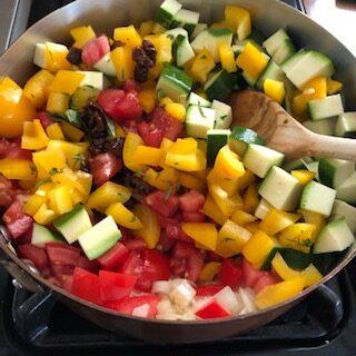 cooking eggplant ingredients