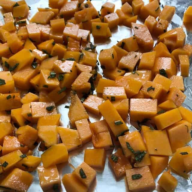 sage roasted squash