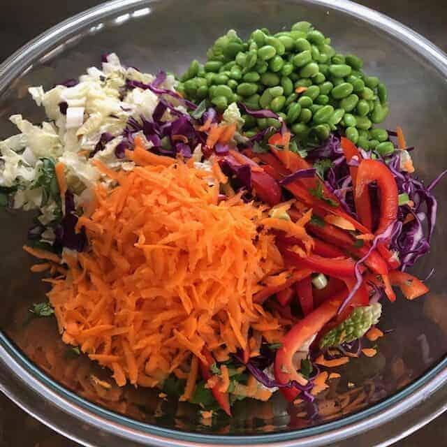 Sesame Salad Ingredients
