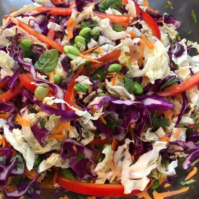 Tossed Salad Ingredients