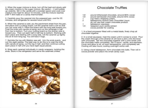chocolate truffle spread
