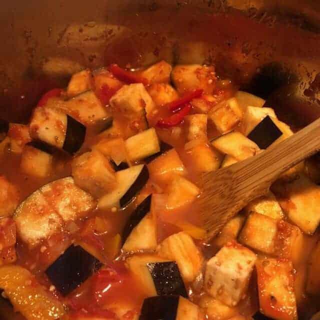 Italian Stew Cooking