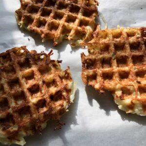 potato waffle latke