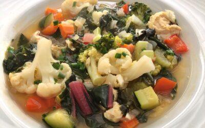 Veggie-up Chicken Soup
