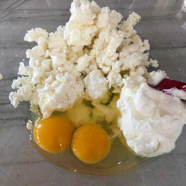 eggs and feta
