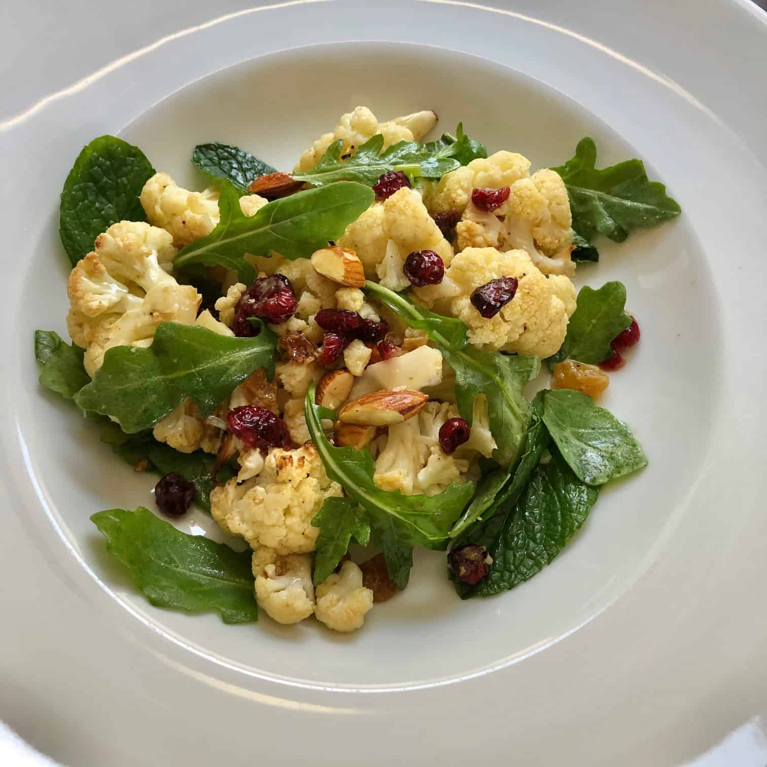 Warm Cauliflower Salad