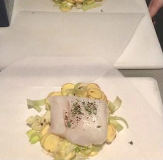 cod and leeks