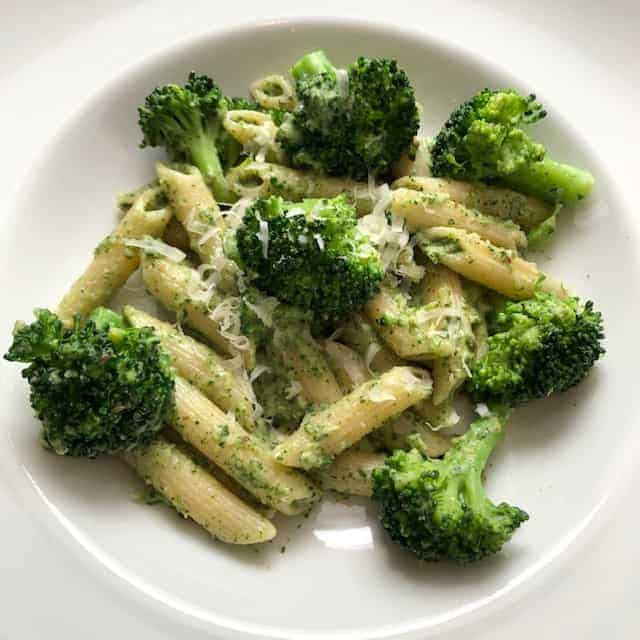 Penne with Broccoli Pesto