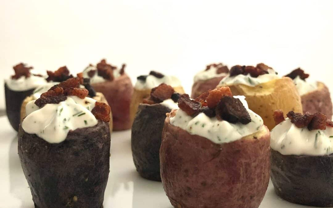 Dilly Baked Potato Bites