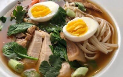 Miso Udon Noodle Bowl