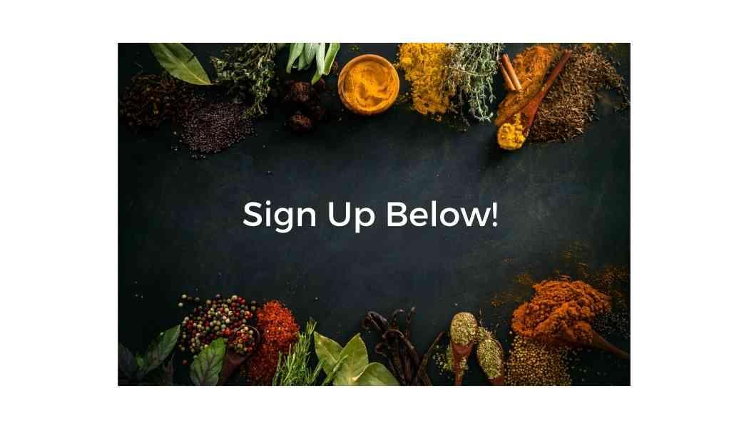 Sign up below