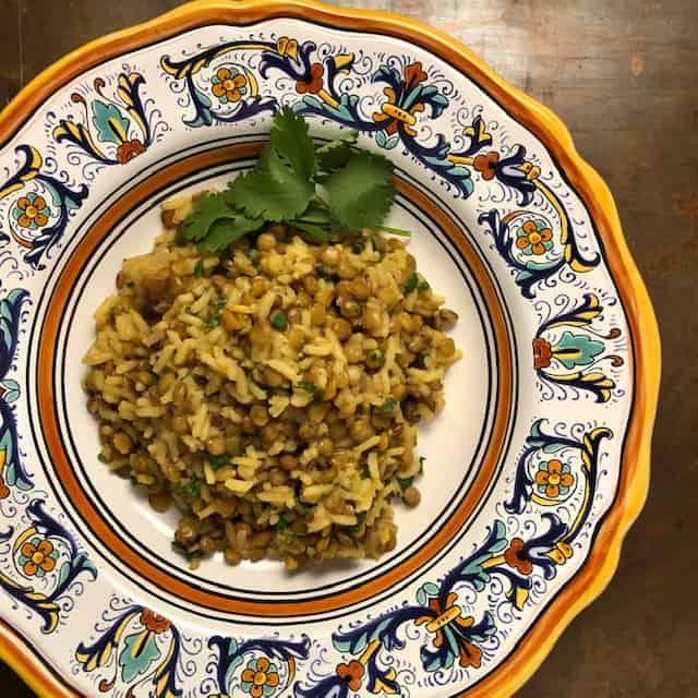 lentil rice pilaf