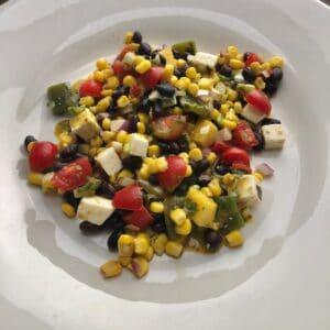 Roasted Poblano Salad