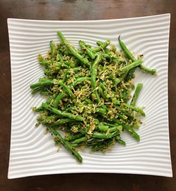 Green Beans and Coconut