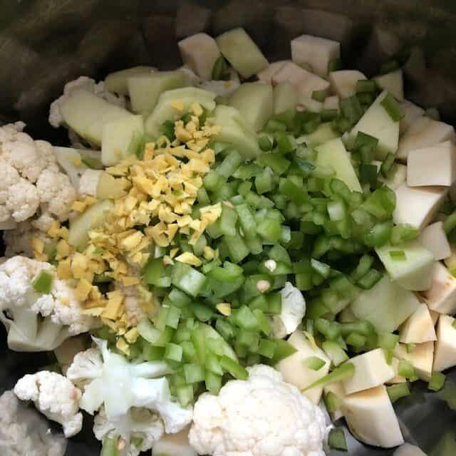 cauliflower mixture