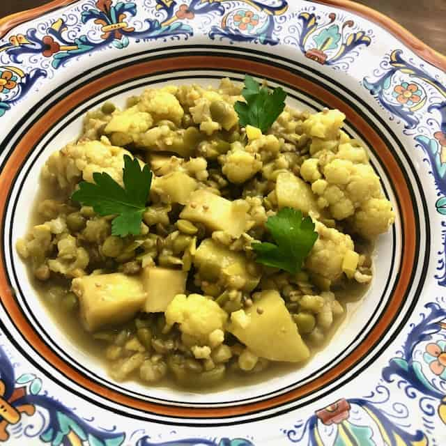 Slow Cooker Cauliflower Dal