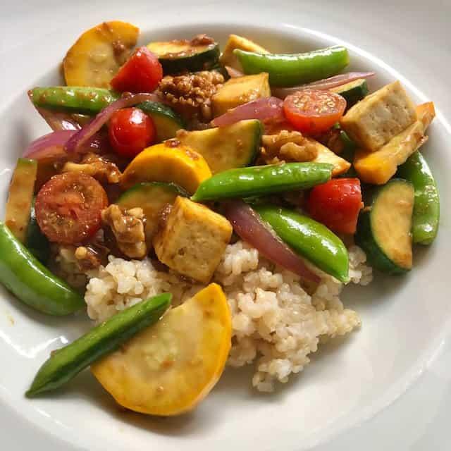 Summer Vegetable Stir-Fry